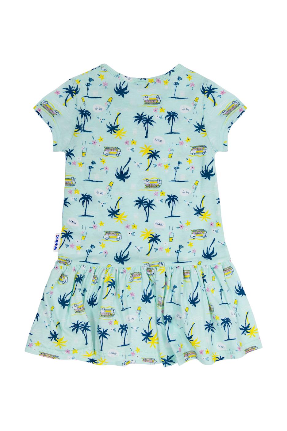 Dívčí šaty Travel Mátová