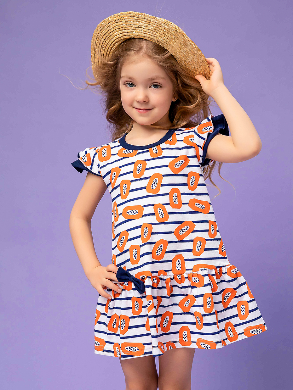Dívčí šaty Papaya Bílá