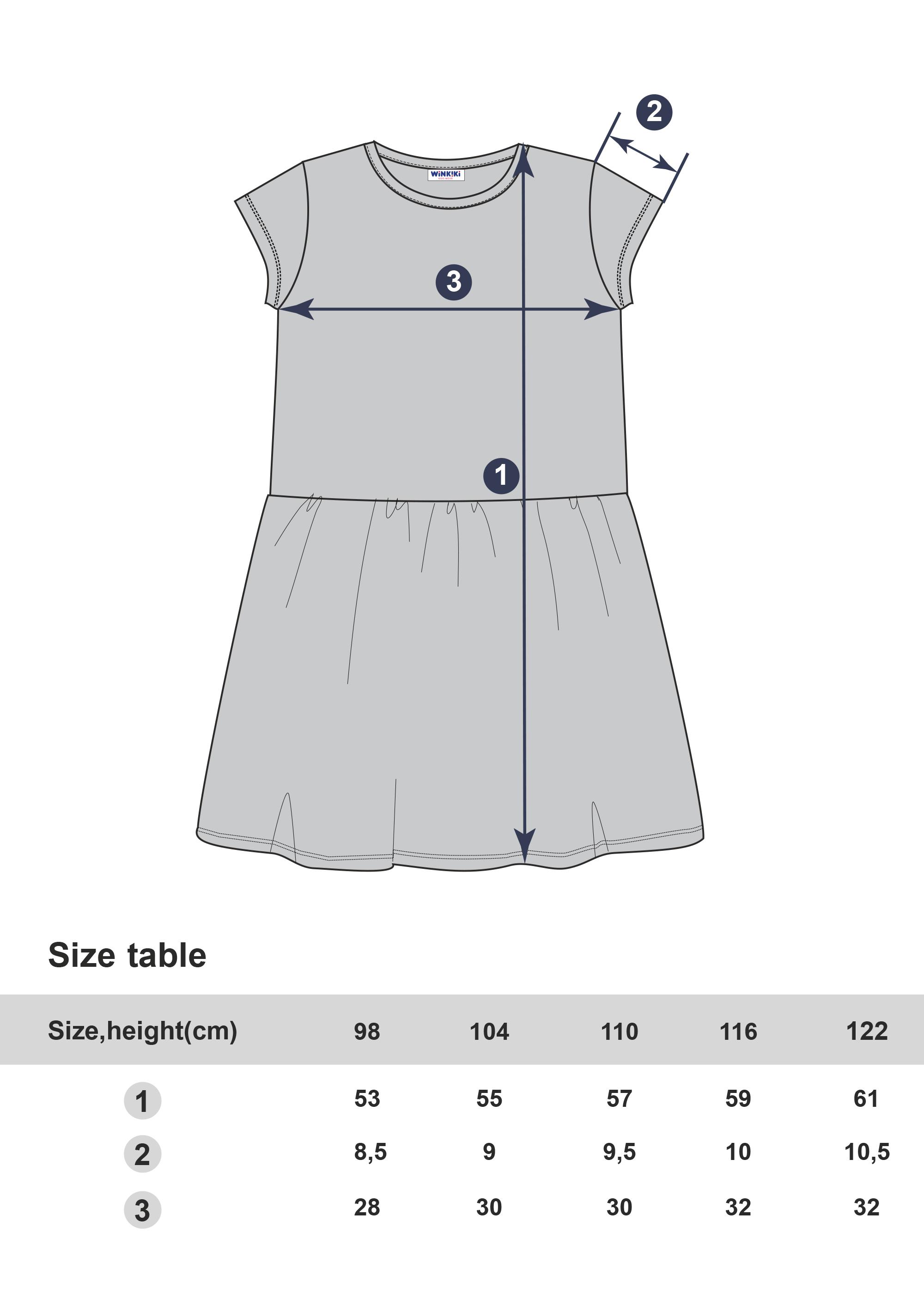 Dívčí šaty Hello Summer Navy