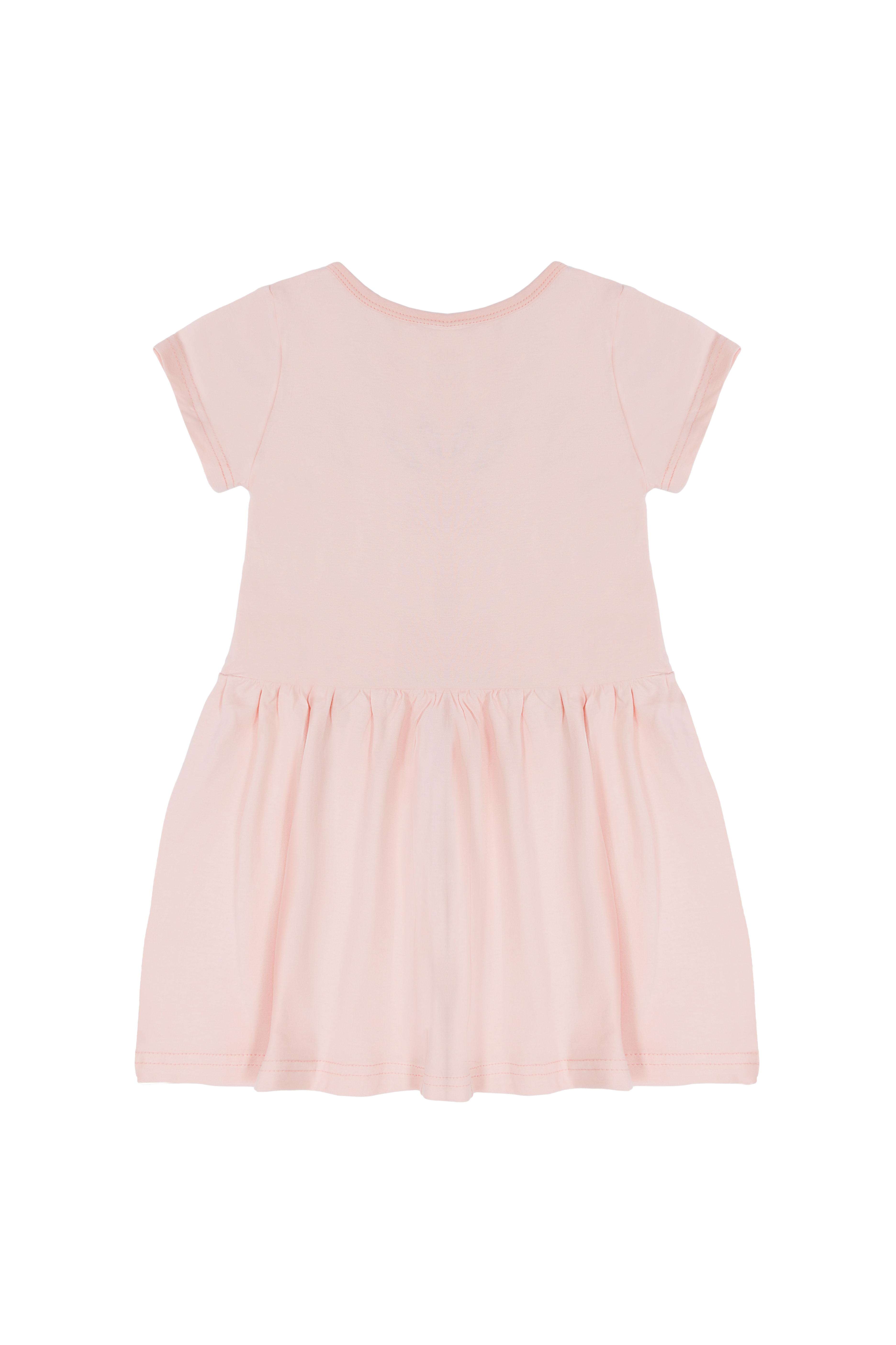 Dívčí šaty Lama 2 Světle-růžová