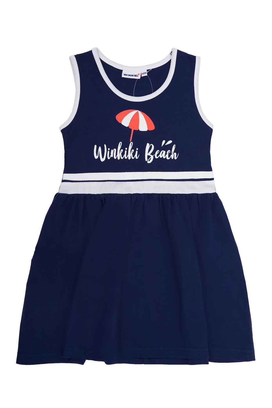 Dívčí šaty Winkiki Beach Navy