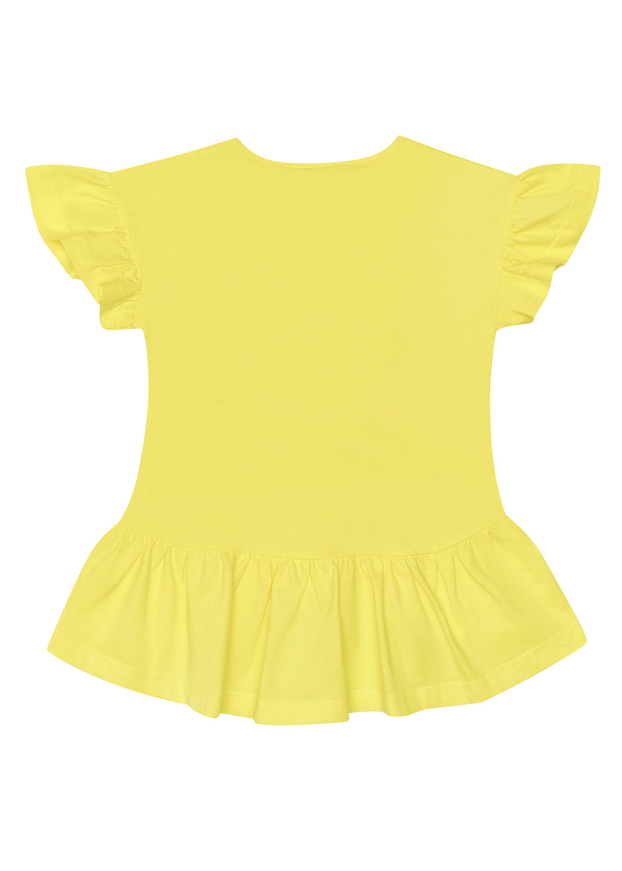 Elegantní dívčí tričko Tree Nymph Bílá, Malinová, Žlutá