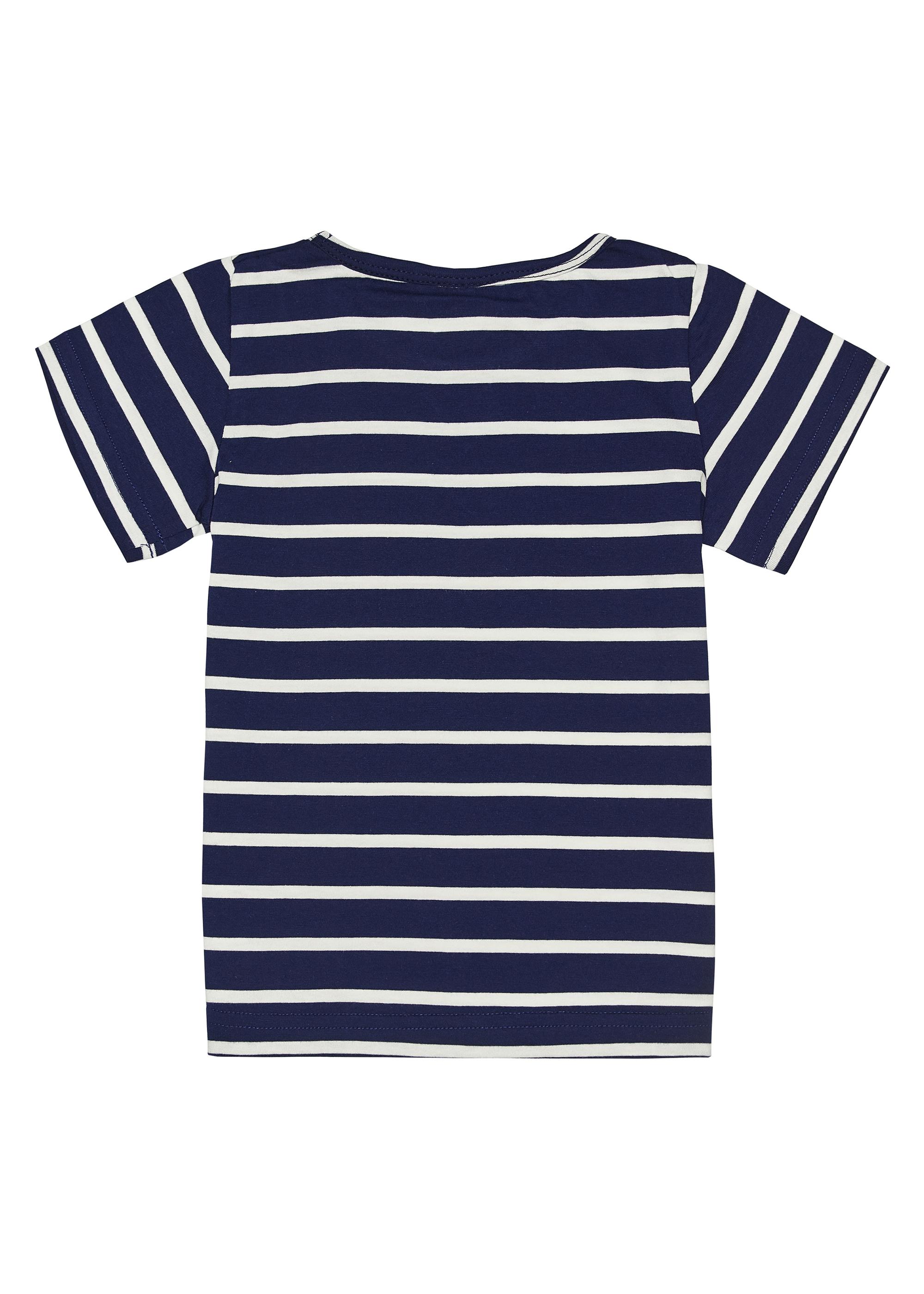 Dívčí tričko I love Paris - fuchsia Fuchsie, Navy/Bílá, Růžová