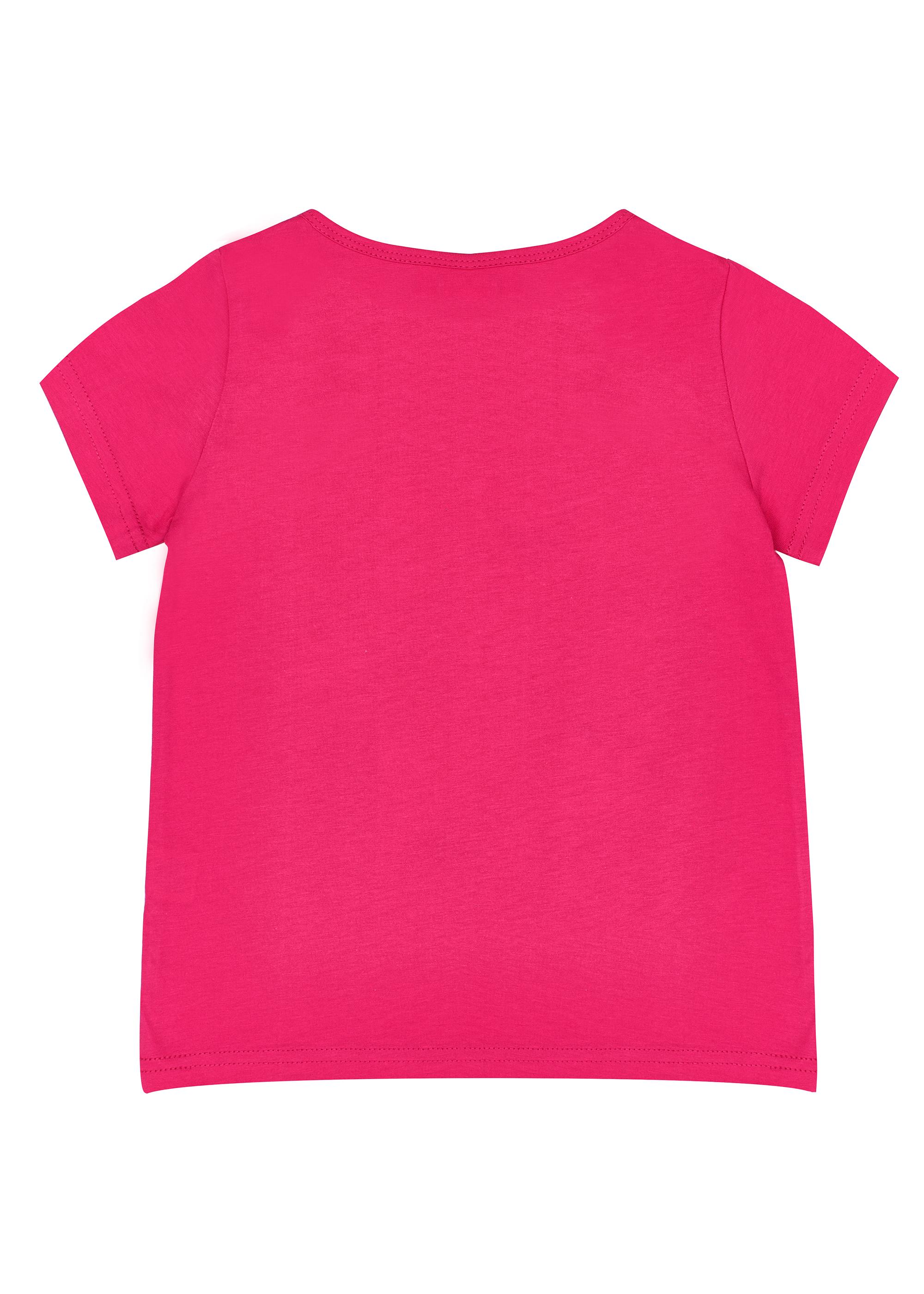 Dívčí tričko I love Paris - NAVY Fuchsie, Navy/Bílá, Růžová