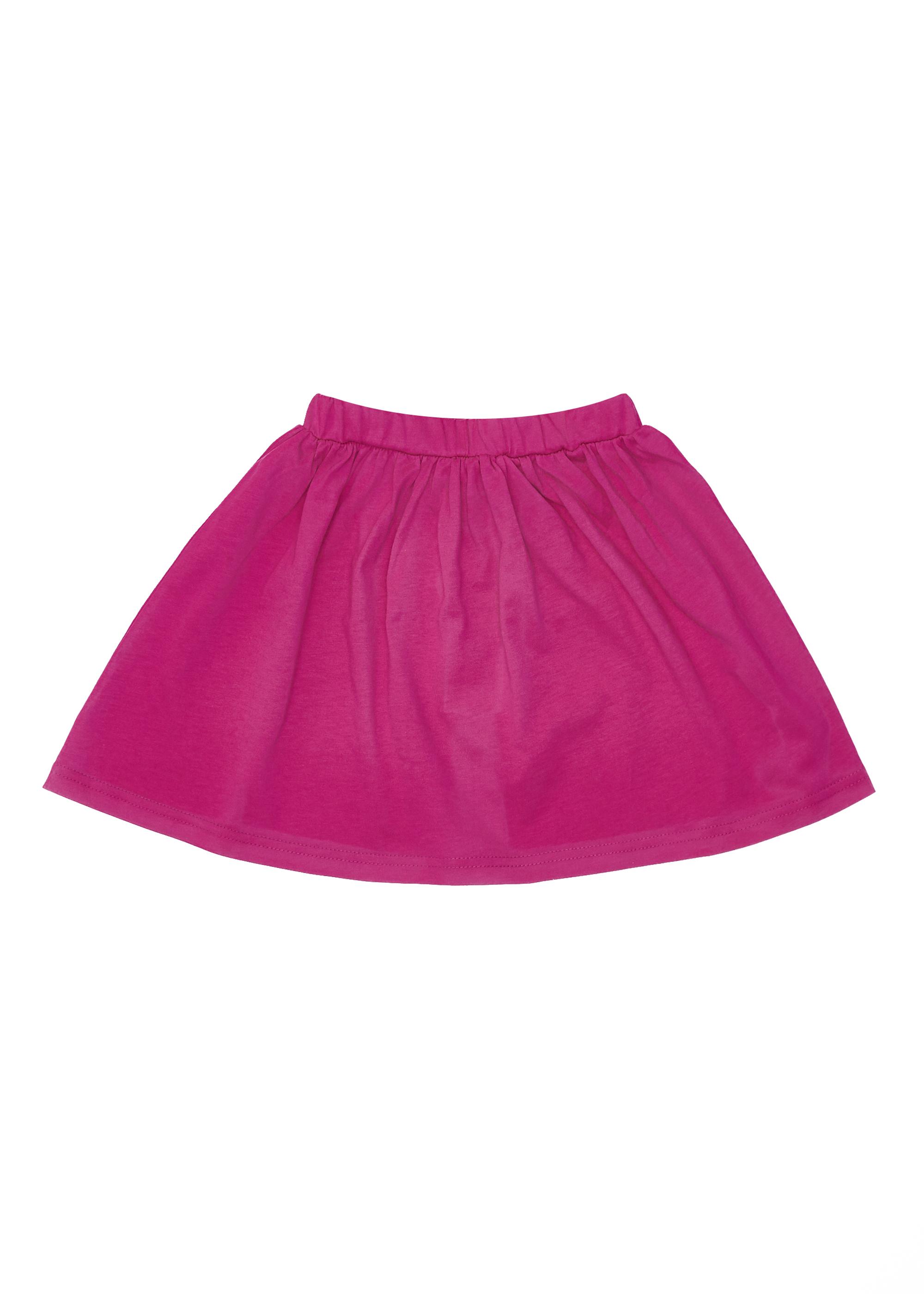 Dívčí sukně Paris - fuchsia Fuchsie, Navy/Bílá