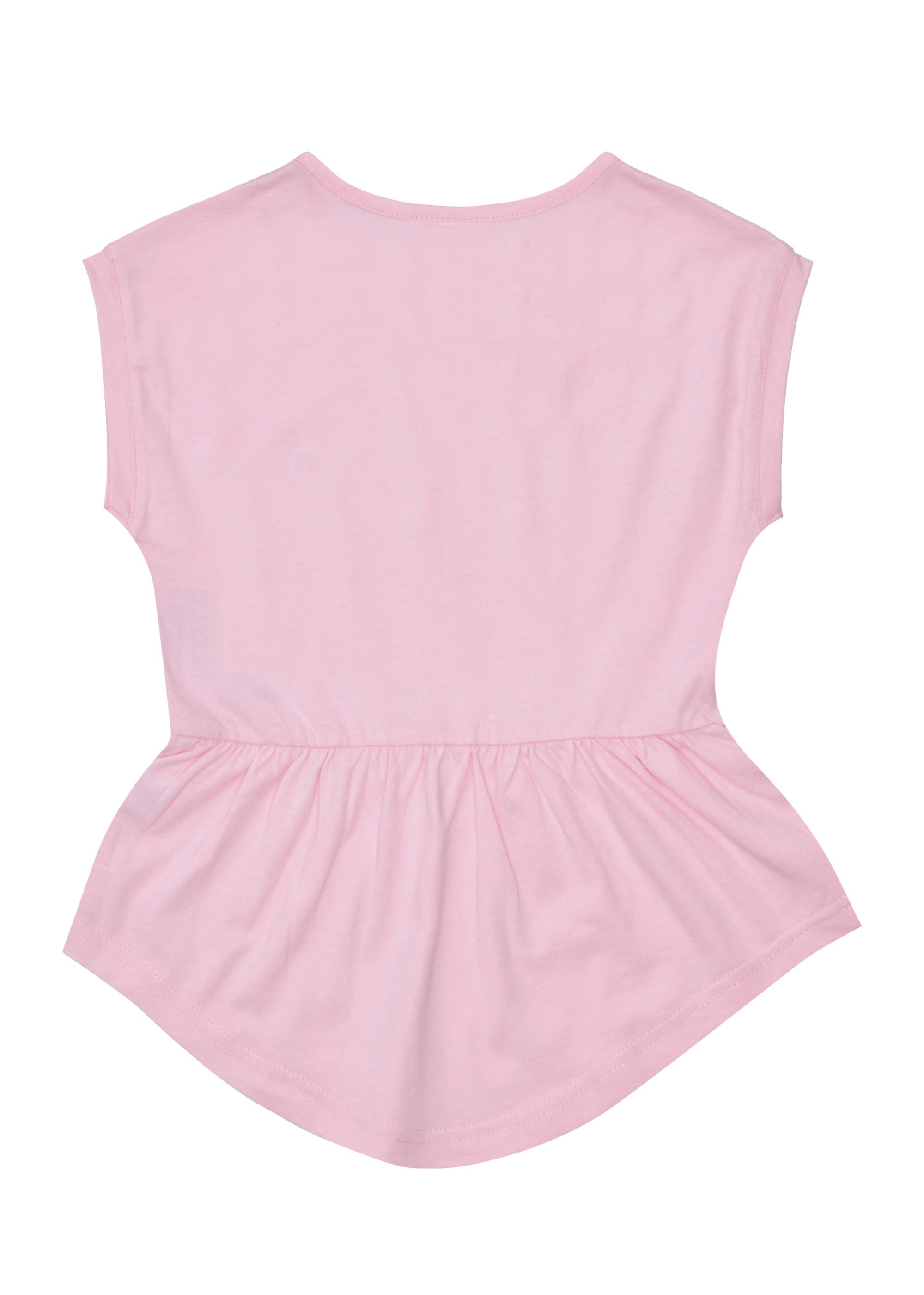 Dívčí tunika Mon Amour - růžová Navy, Růžová