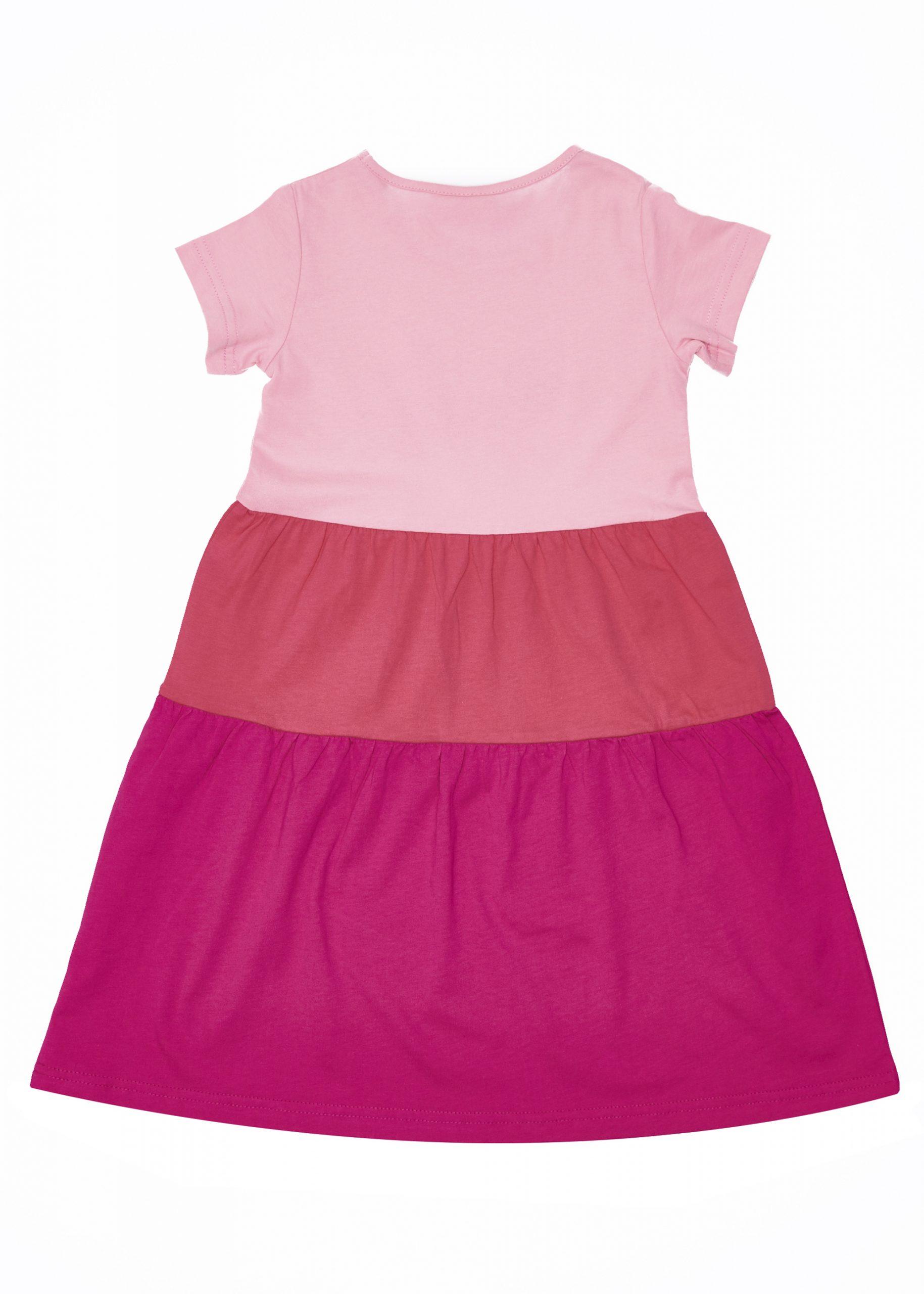 Dívčí šaty Paris Růžová/Fuchsie
