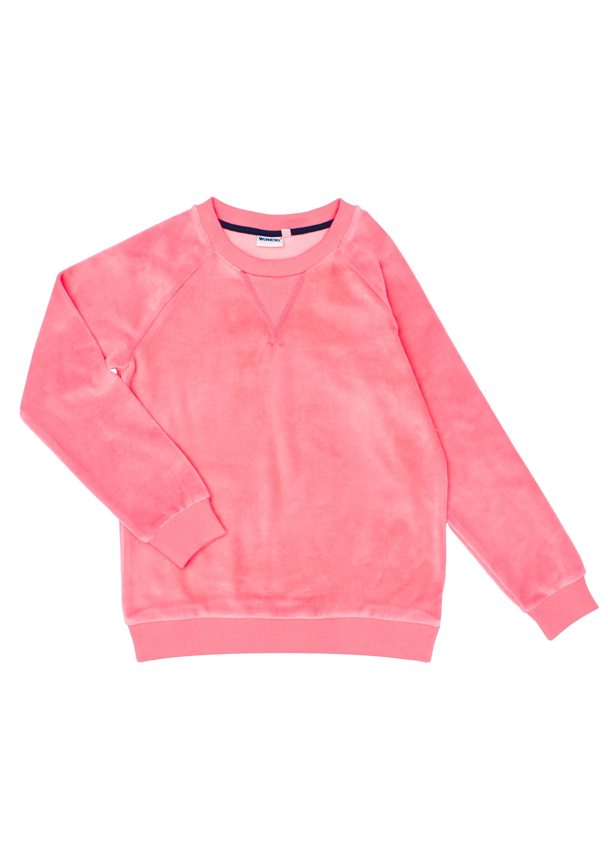 Velurový set - růžový Růžová