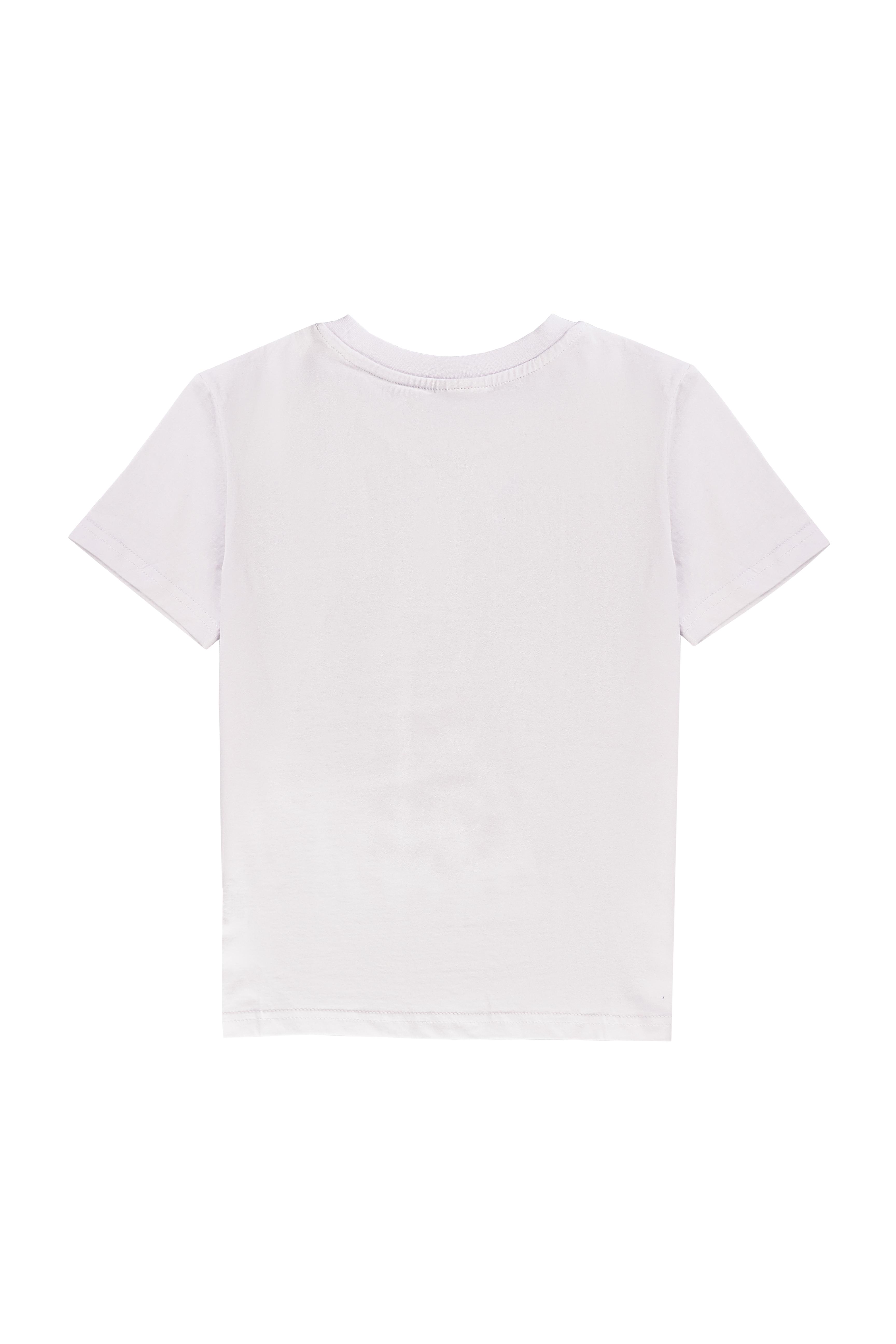 Chlapecké tričko California Bílá, Bordo