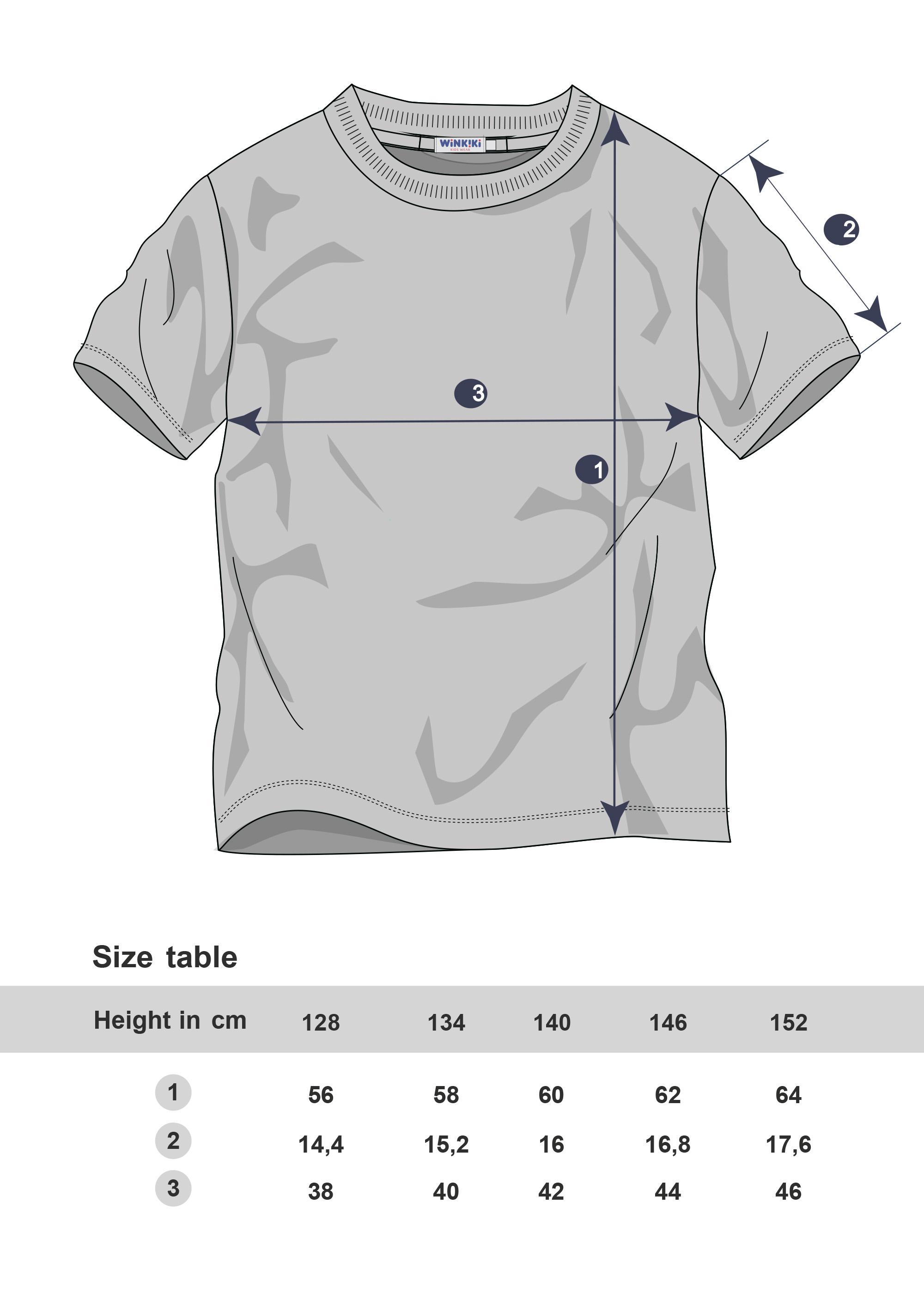 Chlapecké tričko Gepard Navy
