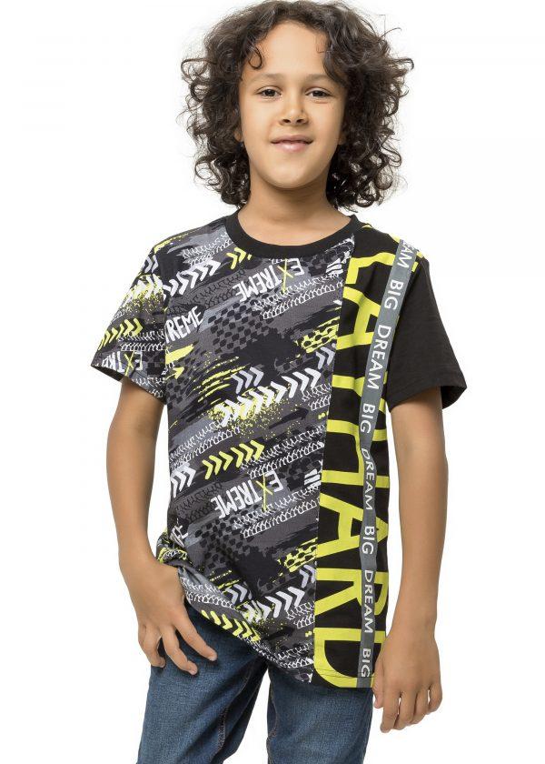 Chlapecké tričko Big Dream Černá