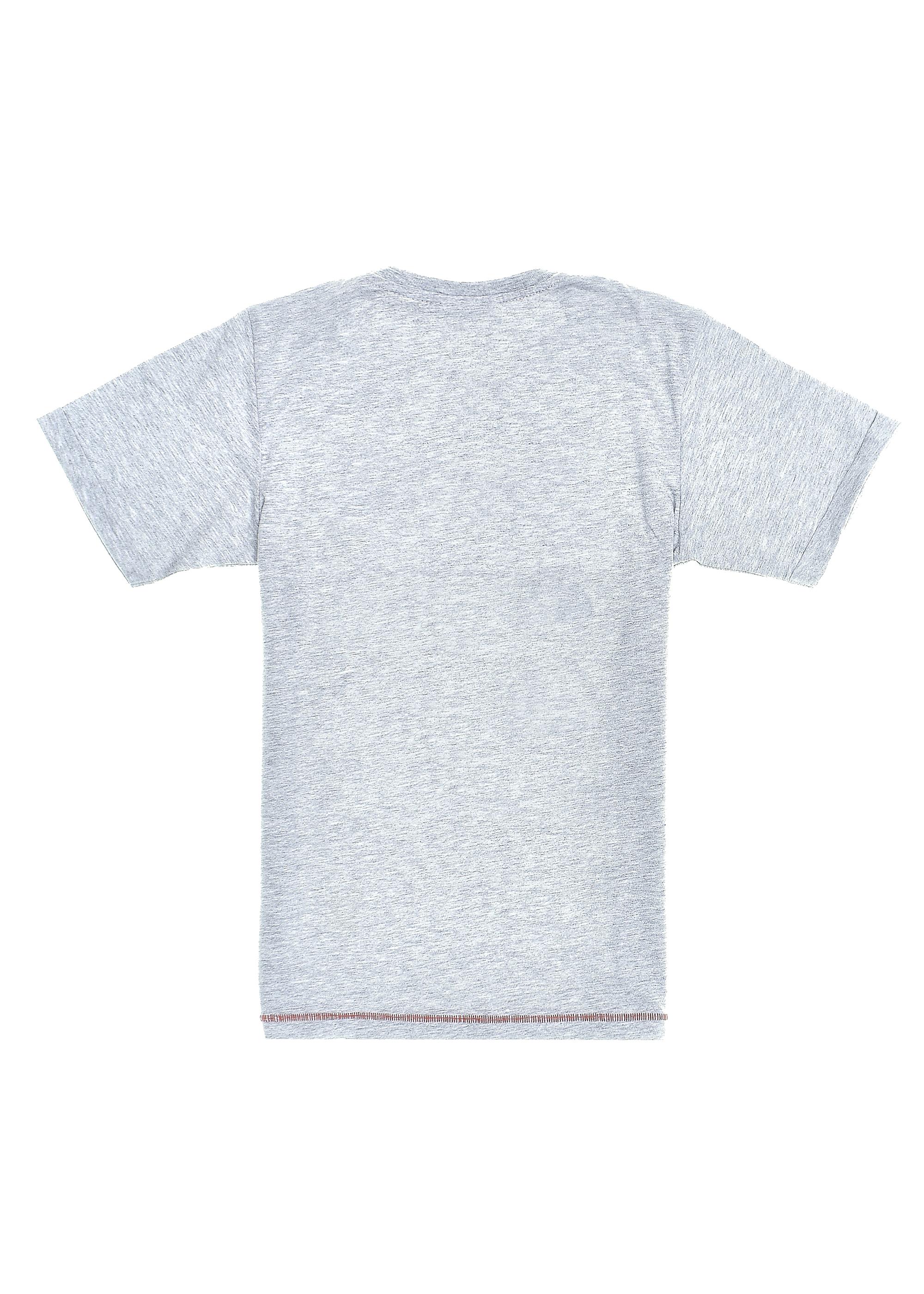 Chlapecké tričko Out of Control Šedý melanž