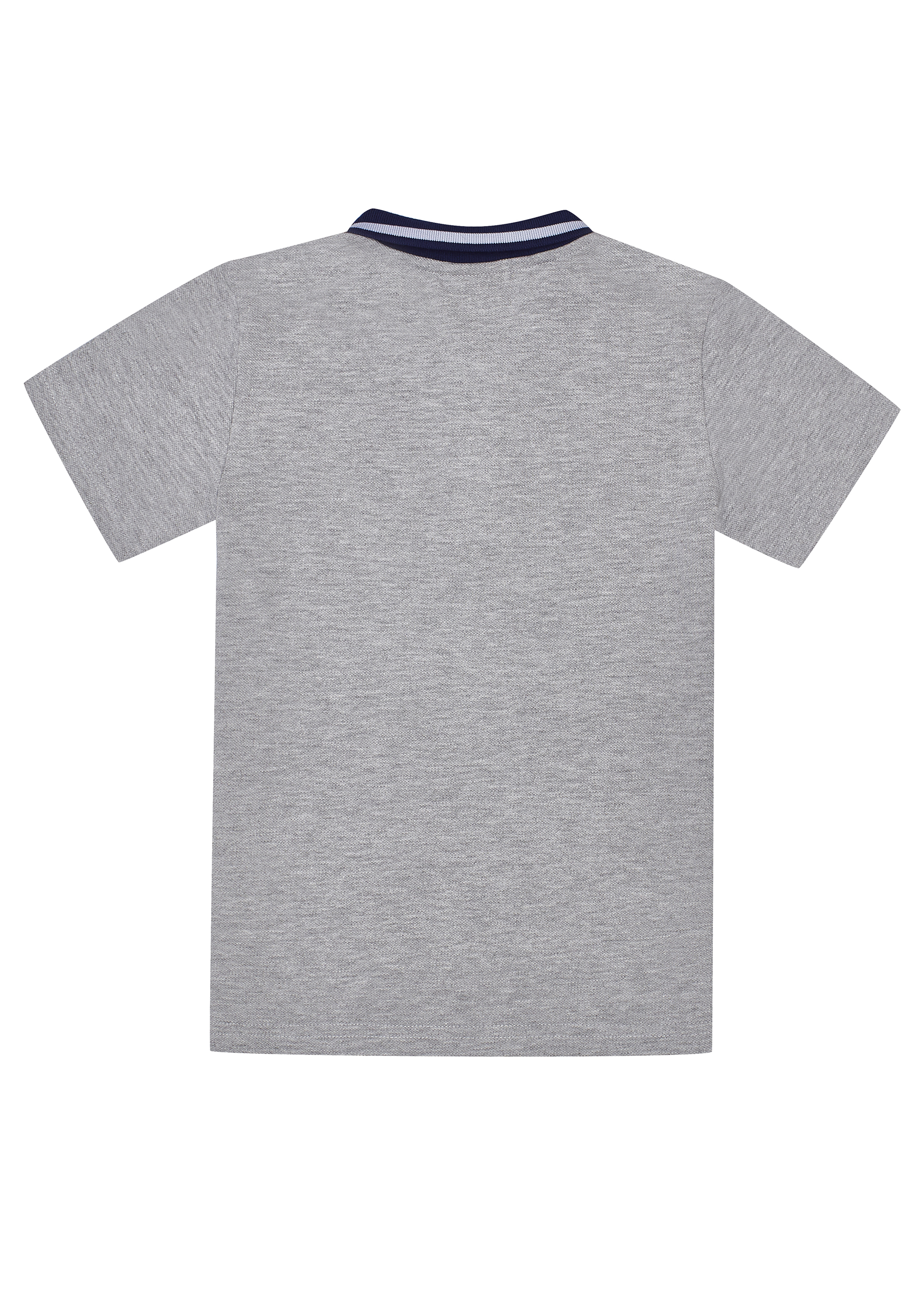Chlapecké tričko Polo 78 - šedá Bílá, Navy, Šedý melanž