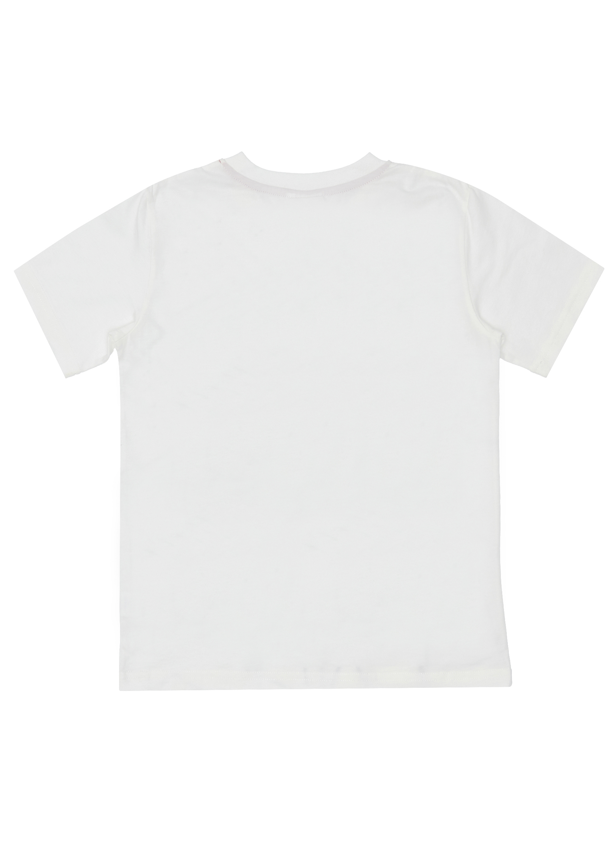 Chlapecké tričko Geometry - bílá Bílá, Černá