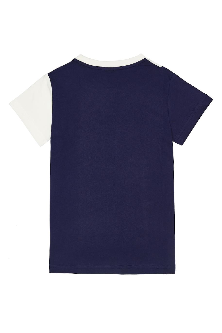 Dívčí tričko Own Magic - růžová Navy/Bílá, Růžová/Tyrkysová